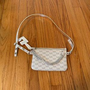 NWT Women's Michael Kors Fanny Pack Wallet Belt XL